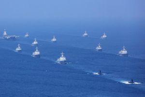 Trung Quốc sắp thao diễn hải quân, vắng bóng tàu sân bay mới