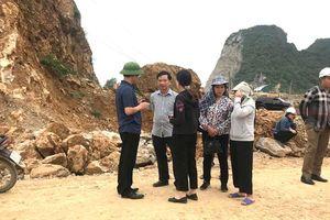 Tìm thấy thi thể công nhân bị đá lở vùi lấp ở Quảng Ninh