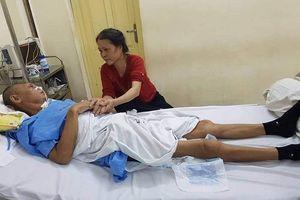 Thanh Hóa: Bắt tạm giam 3 đối tượng hành hung một thương binh chấn thương sọ não