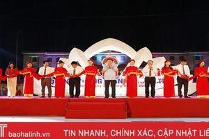 Khởi công Bệnh viện Quốc tế TTH và khánh thành Quảng trường TP Hà Tĩnh