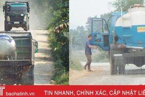 Khắc phục tình trạng ô nhiễm trên tuyến đường Bình - Thủy - Mai