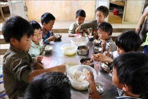 Đảm bảo bữa ăn an toàn, chất lượng cho học sinh bán trú Lai Châu