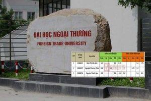 Đại học Ngoại thương xử lý 3 sinh viên ở Hòa Bình được nâng điểm như thế nào?