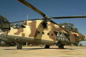 Quân đội Quốc gia Libya (LNA) ồ ạt sử dụng 'xe tăng bay' Mi-35 tấn công Tripoli