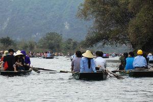 Ninh Bình: Lễ hội Tràng An 2019 thu hút hàng ngàn du khách