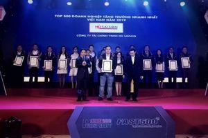 Năm thứ 4 liên tiếp HD SAISON góp mặt trong top 500 doanh nghiệp tăng trưởng nhanh nhất Việt Nam