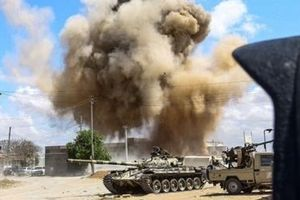 Lực lượng Quân đội Quốc gia Libya áp sát Nam thủ đô Tripoli