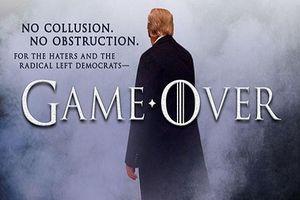 Công bố báo cáo của Mueller: Tổng thống Trump tuyên bố 'Trò chơi kết thúc'