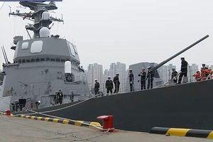 Lực lượng Phòng vệ trên biển Nhật Bản cử tàu khu trục đến Trung Quốc