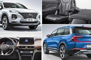 Hyundai Santa Fe trục cơ sở dài: Mở cửa, khởi động bằng vân tay