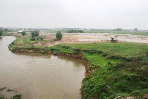 Hà Nội: Phê duyệt dự án cải tạo đê tả Cà Lồ, huyện Sóc Sơn