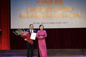 Bổ nhiệm PGS Nguyễn Lân Hiếu làm Giám đốc Bệnh viện Đại học Y