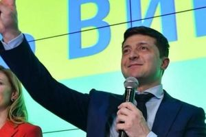 Diễn viên hài chiến thắng áp đảo cuộc bầu cử tổng thống Ukraine