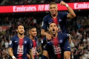 PSG vô địch Ligue 1 trước năm vòng đấu