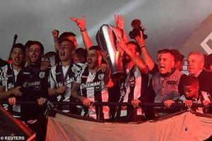 CLB PAOK vô địch giải bóng đá Hy Lạp lần đầu tiên sau 34 năm