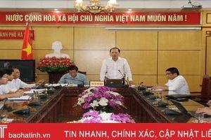 Bí thư Thành ủy Hà Tĩnh đôn đốc xử lý các kiến nghị của công dân