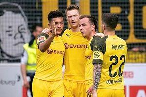 Dortmund thắng hủy diệt, tiếp tục gây sức ép lên Bayern Munich