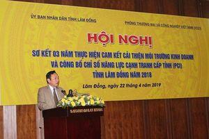 Lâm Đồng: Sơ kết 3 năm thực hiện cam kết cải thiện môi trường kinh doanh