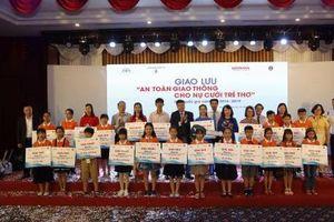 Vòng chung kết và trao giải hội giao lưu ATGT cho nụ cười trẻ thơ quốc gia