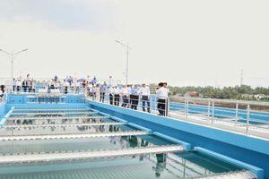 Khánh thành nhà máy nước sạch lớn nhất khu vực Đồng bằng sông Cửu Long