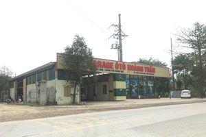 Thanh Hóa: Nhà xưởng không phép 'mọc lên' cạnh Quốc lộ 45