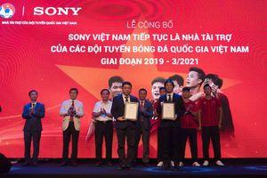 Sony Việt Nam tài trợ Đội tuyển Bóng đá Quốc gia Việt Nam