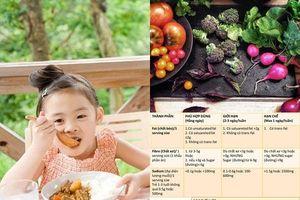 Chuyên gia hướng dẫn cách chọn thực phẩm khoa học cho trẻ nhờ 3 bước đọc thông tin dinh dưỡng