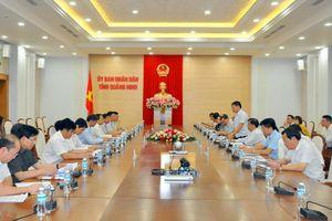 Đoàn công tác tỉnh Lai Châu trao đổi, học tập kinh nghiệm tại Quảng Ninh