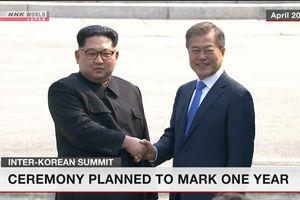 Hàn Quốc sẽ kỷ niệm 1 năm ngày diễn ra Hội nghị thượng đỉnh với Triều Tiên