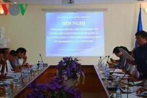 Triển khai chính sách người Việt Nam có công định cư ở Campuchia
