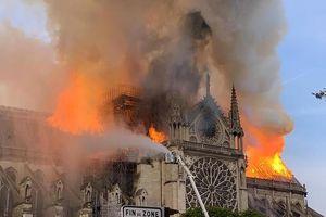 Sau vụ cháy nhà thờ: Pháp muốn lập cơ chế bảo vệ di sản châu Âu