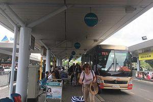 Xe buýt Tân Sơn Nhất - Vũng Tàu đang gặp khó