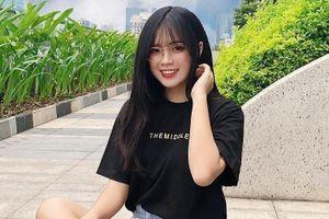 Vẻ đẹp thuần khiết của gái xinh ĐH Kiến trúc được lên báo Trung
