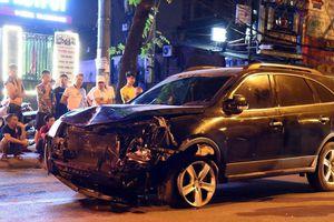 Nửa ngày sau vụ tông chết người, tài xế say xỉn chưa tỉnh để khai báo
