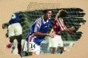 Khoảnh khắc thiên tài của Zidane ở lần đầu khoác áo ĐT Pháp