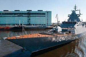Siêu hạm 2.000 tấn mạnh nhất thế giới của Nga chạy thử