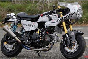 Chiêm ngưỡng bản độ cafe racer cực chất từ Honda Monkey 125
