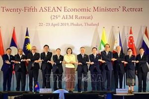Hội nghị hẹp Bộ trưởng kinh tế ASEAN lần thứ 25