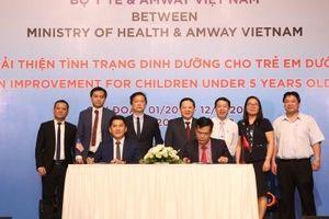 Bộ Y tế và Amway Việt Nam ký thỏa thuận hợp tác