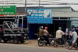 Khởi tố nam thanh niên khống chế chủ tiệm cắt tóc cướp tài sản