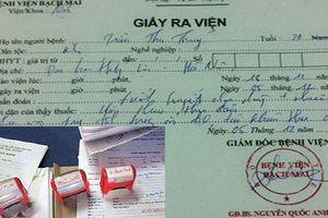 Phát hiện đường dây nghi làm giả giấy tờ Bệnh viện Bạch Mai