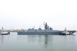 Tàu chiến Nga và Ấn Độ đã tới Trung Quốc