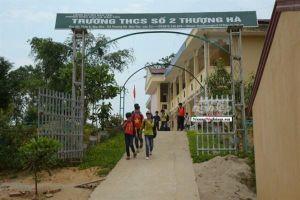 Bộ GD-ĐT yêu cầu làm rõ vụ thầy giáo bị 'tố' làm học sinh lớp 8 mang thai