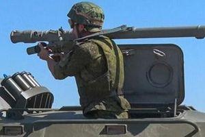 Mãn nhãn xem binh sĩ Nga vác Igla-S tiêu diệt tên lửa hành trình