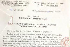 Viện kiểm sát kháng nghị giám đốc thẩm bản án có sai lầm trong đánh giá chứng cứ
