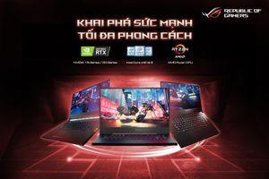 'Binh đoàn' laptop gaming ASUS ROG 2019 trình diện: CPU Intel Core thế hệ 9, đồ họa NVIDIA GeForce GTX 16-Series