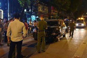 Danh tính tài xế gây tai nạn liên hoàn trong đêm