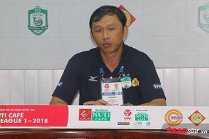 HLV Dương Minh Ninh: 'Tôi từ chức vì kém may mắn và trách nhiệm với HAGL'
