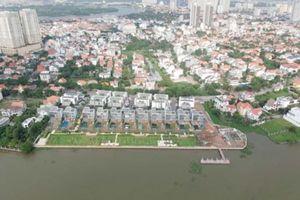 Rắp tâm lấn chiếm bờ sông Sài Gòn