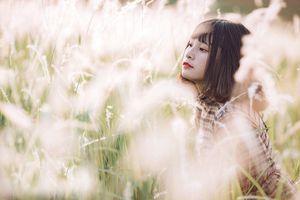 10x Ngọc Anh xinh đẹp ngẩn ngơ giữa cánh đồng cỏ lau